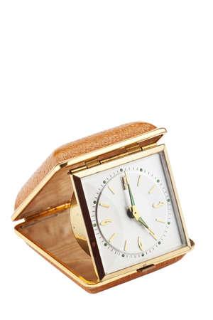 chronograph: reloj despertador de viaje de la vendimia