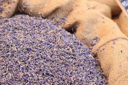 lavander: A bag full of lavander flowers