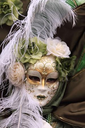 eye mask: Venetian carnival mask Stock Photo