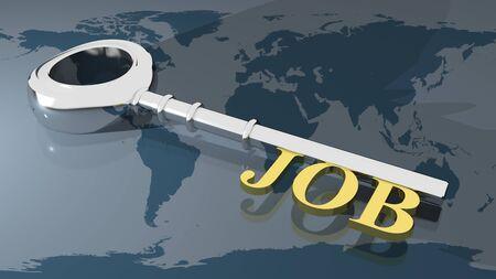 Job key photo