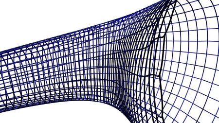 transferring: Abstract shape - Tube surface