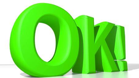 OK Green Stock Photo - 24742256
