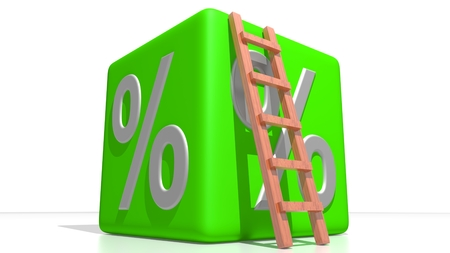 Green percentage cube