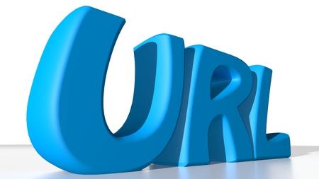url: Blue URL