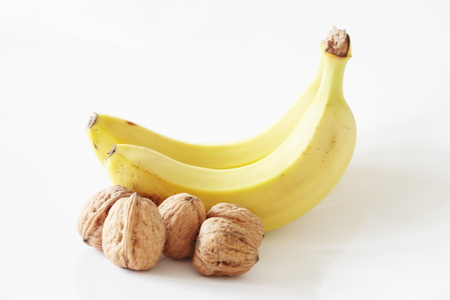 Bananas and walnuts