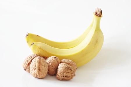 Bananas and walnuts