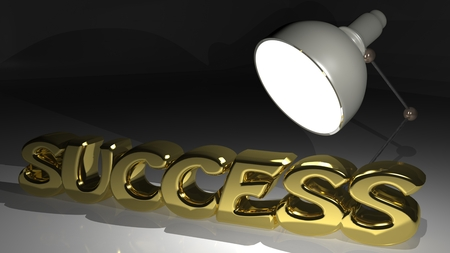 Success word on white