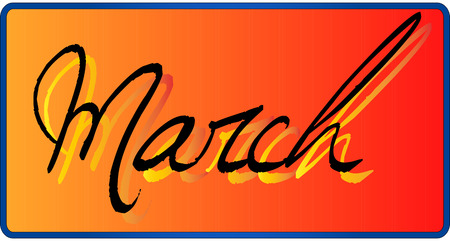 march: March Illustration