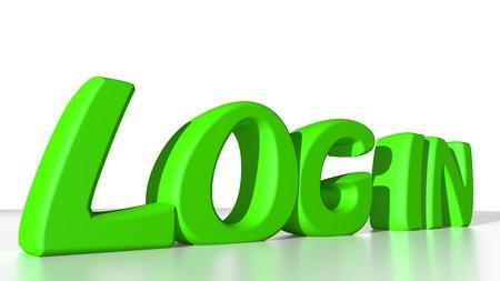 credentials: Log in
