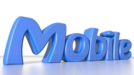 contractual: Mobile blue