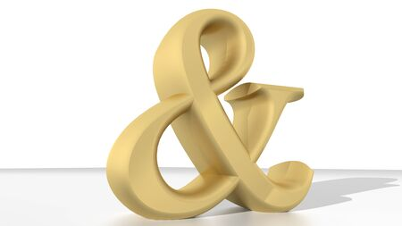 algebraic: Brass commercial and symbol Stock Photo