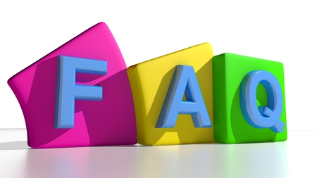 frequently: FAQ - Frequently Asked Questions Stock Photo