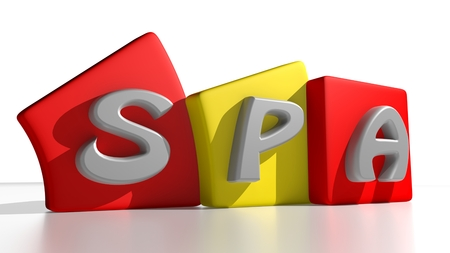Spain country code Stock Photo