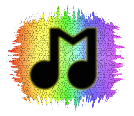 jazz time: Music icon concept
