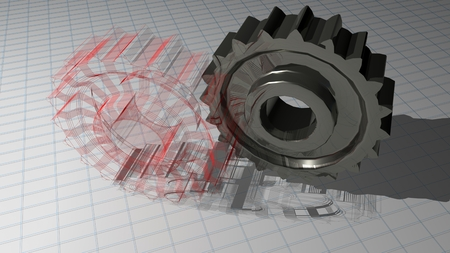Gears - Toothed wheels photo