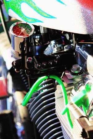 sensations: Motorcycle Stock Photo