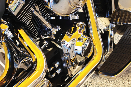 sensations: Motorcycle engine