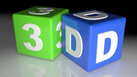 pva: 3D cubes