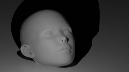 anthropomorphous: Human face