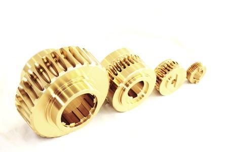 Wormwheels - Gears Stock Photo