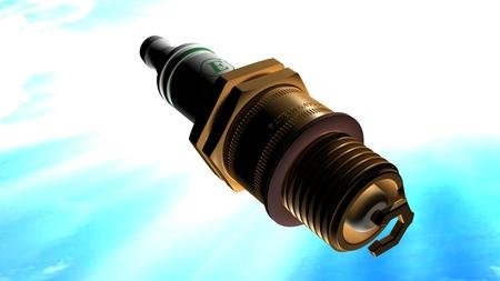 explosion engine: spark plug
