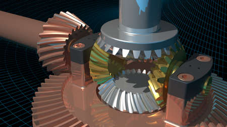 hardening: Differential gear