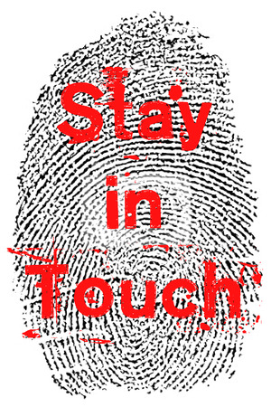 to stay: Stay in touch fingerprint