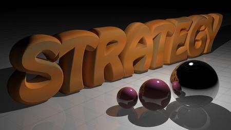 risky innovation: strategy Stock Photo