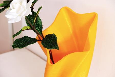 star shaped: Star shaped 3D printed vase Stock Photo