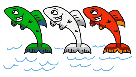 swimm: Italian fishes Stock Photo