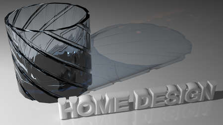 home design: Home Design Stock Photo