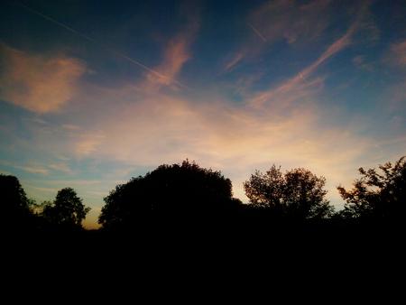 sensations: Sunset Stock Photo