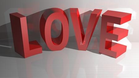 baiser amoureux: Amour