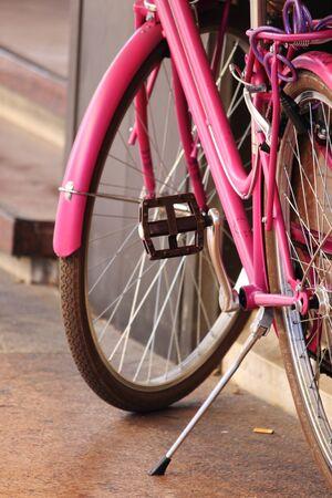 autonomia: La bicicleta de color rosa