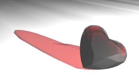sensations: Red heart