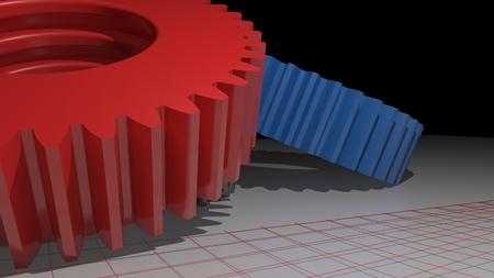 grinding teeth: Precision mechanics