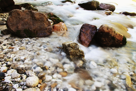 torrent: Torrent in the mountains