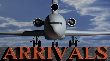 arrivals: Airplane Arrivals