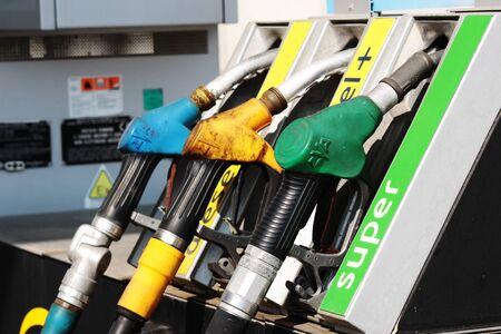 burning money: gas station