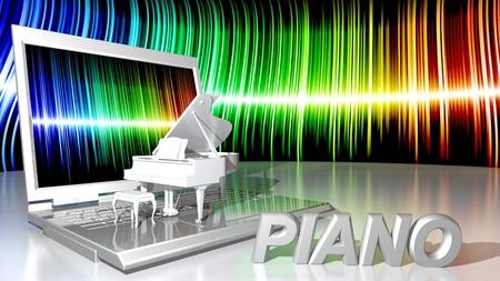 sensations: Computer and piano music