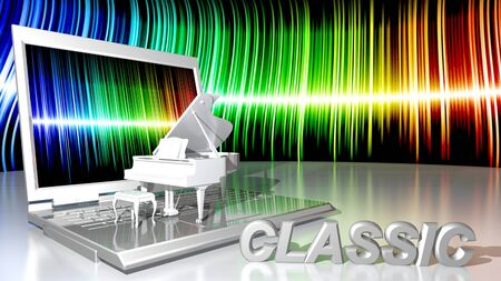 sensations: Computer and classical piano music