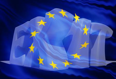 exiting: Exiting european community Stock Photo