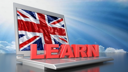 Learn Inglese with computer
