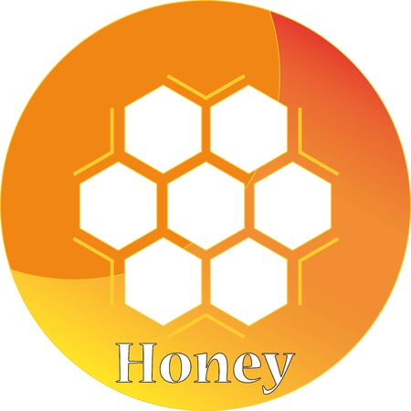awaking: Honey icon Illustration