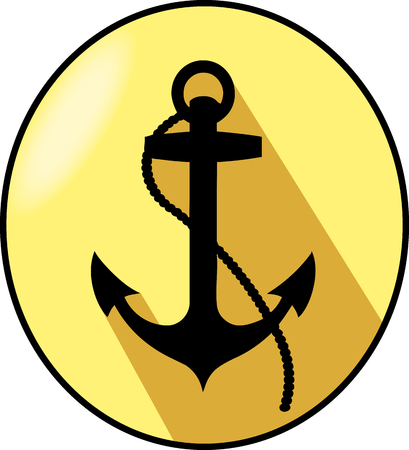 eliptica: Anchor elliptical arms with yellow background