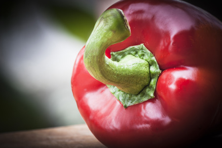 vitamines: Red pepper Stock Photo