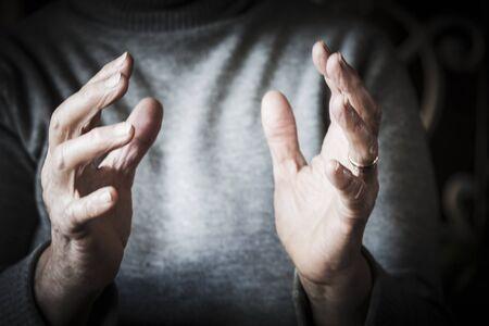 womans hands: Womans hands Stock Photo