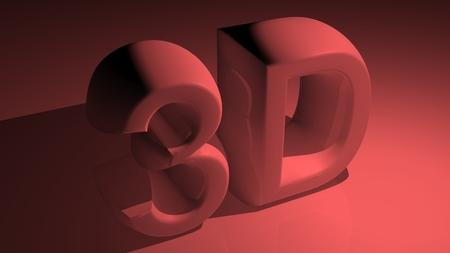 xyz: 3D in red