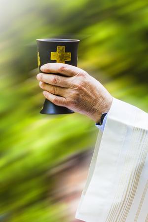 Christian religious celebration Stock Photo