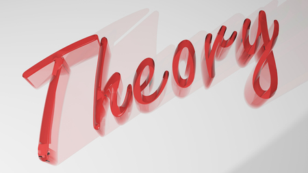Theory red 3D write